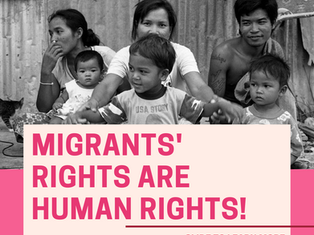 Migrants' Rights Are Human Rights!