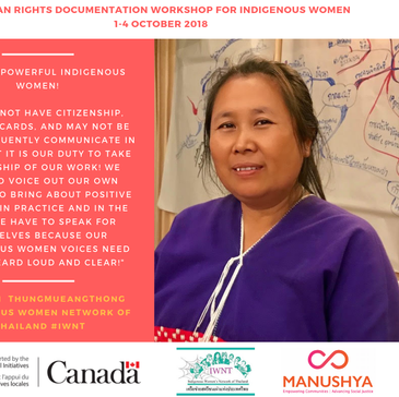 'We are Powerful Indigenous Women' Human Rights Documentation Workshop