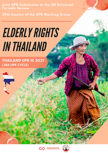 Joint UPR Submission - Elderly Rights (2