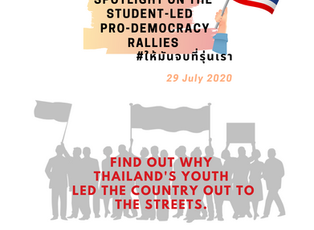 SPOTLIGHT on the Student-Led Pro-Democracy Rallies in Thailand