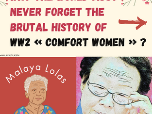 Why the World must never forget the Brutal History of WW2 « Comfort Women » ?
