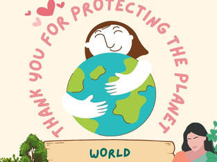 World Environment Day, thank you for protecting our planet!
