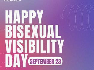 #BisexualVisibilityDay: We celebrate your Crushes!