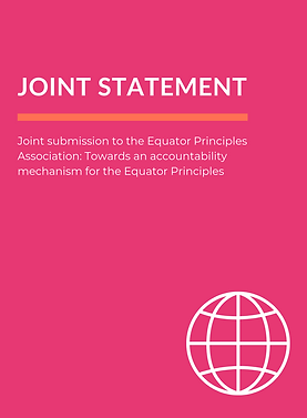 Joint Statement - Equator Principles Ass