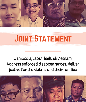 Cover Joint Statement Enforced Disappear