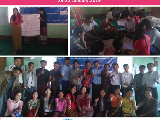 MYANMAR - Basic Training on Human Rights Documentation and Advocacy organized in Rakhine State