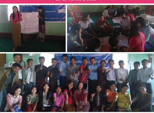 MYANMAR - Basic Training on Human Rights Documentation and Advocacy organized in Rakhine State