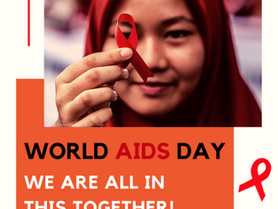 World AIDS Day - We Are All In This Together!