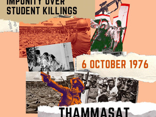 Impunity Over Student Killings - 6 October 1976: Thammasat Massacre