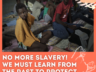 No More Slavery! We Must Learn from the Past to Protect Freedom in the Future