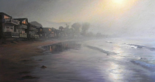 Morning Fog, Miramar Beach