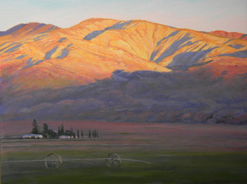 1674. Dawn Light in Cuyama Valley