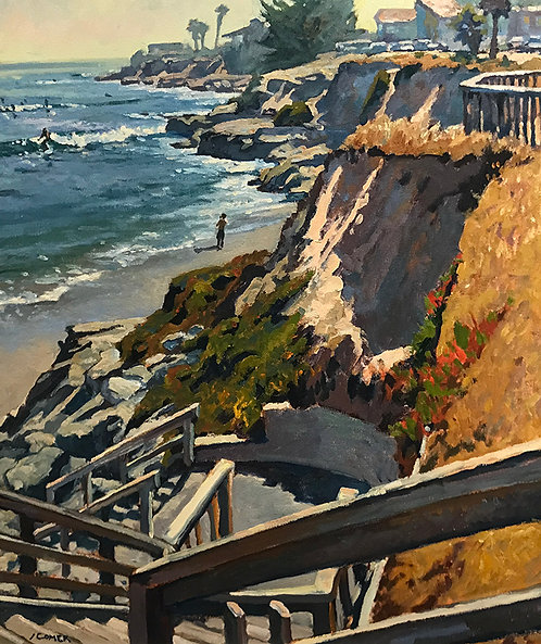 Stairs, Pleasure Point