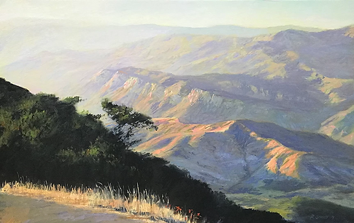 Los Padres Forest from Camino Cielo