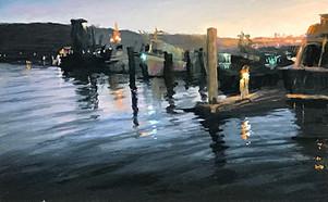 SB Harbor Nightfall