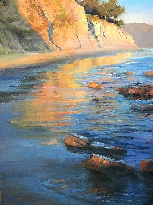 Warm Reflections, Shoreline Beach