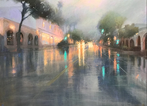 Lights in the Rain, State St.
