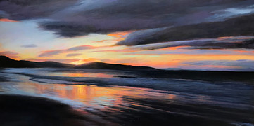 Sunrise from Leadbetter Beach