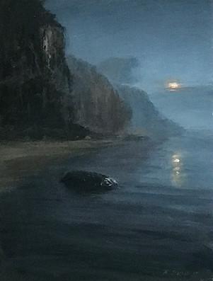 SOLD Dark Rock, Shoreline Beach