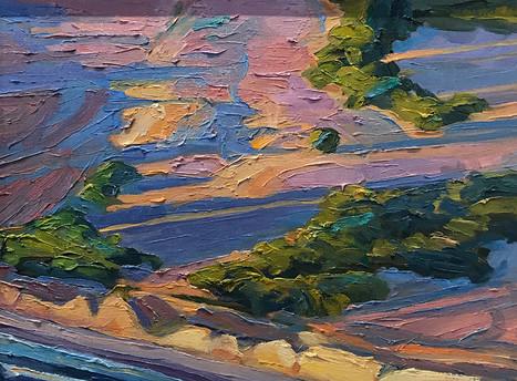 Gaviota Bluffs, Sunset