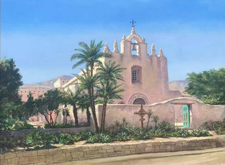 Afternoon At Mount Carmel, Montecito