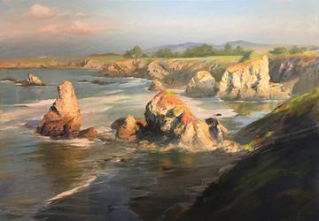 1981.  Rock Point, Sonoma Coast