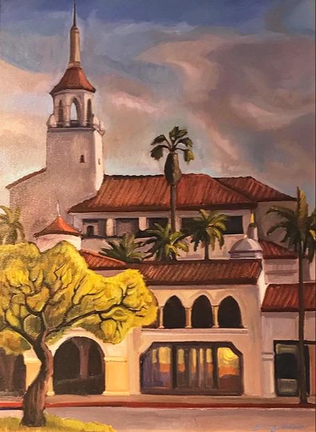 Arlington Theater and Santa Barbara Fine Art
