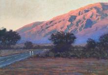 Morgan Green  Mountain Light Near Bishop