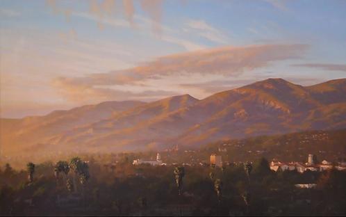 Warm Light, Santa Barbara