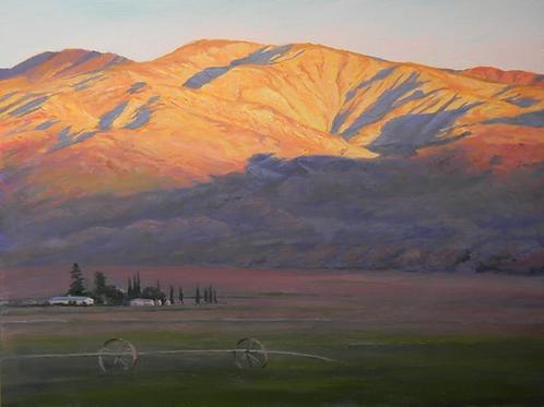 Dawn Light in Cuyama Valley