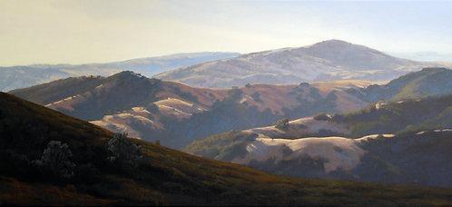 Ridges from Summit Road