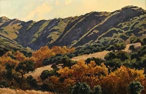 Fall in Gaviota Canyon