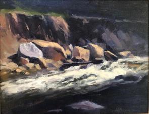 Last Light on a Sierra Stream