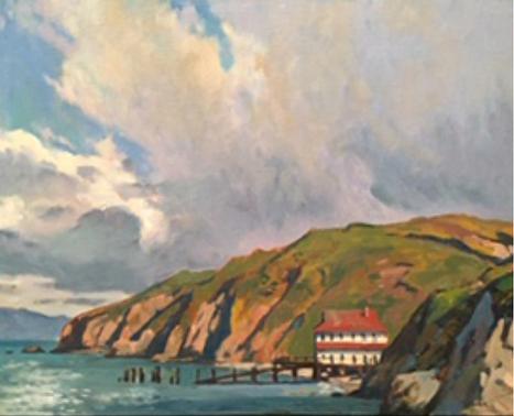 Coast Guard Boathouse, Pt Reyes