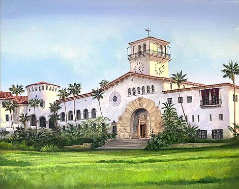 SOLD Santa Barbara County Courthouse