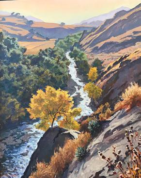 Fall, Santa Cruz Creek
