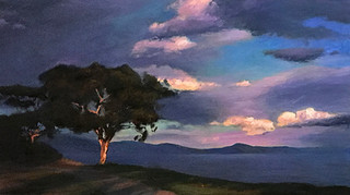 1984.Storm Clouds, Shoreline Park