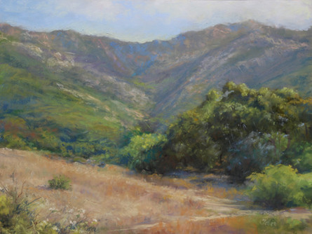 Morning Glow, Santa Ynez Mountains