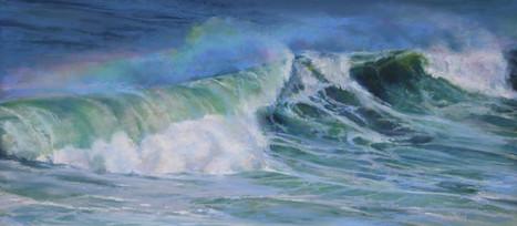SOLD Rainbow Wave