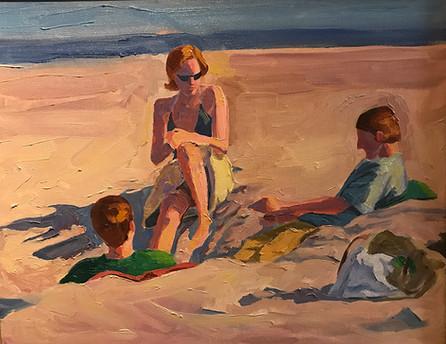 Beach Philosophers, Santa Barbara