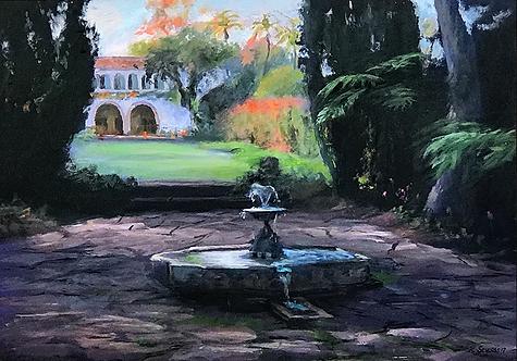Casa del Herrero Fountain