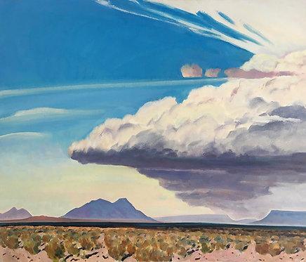 Windy Afternoon, Alvord Desert