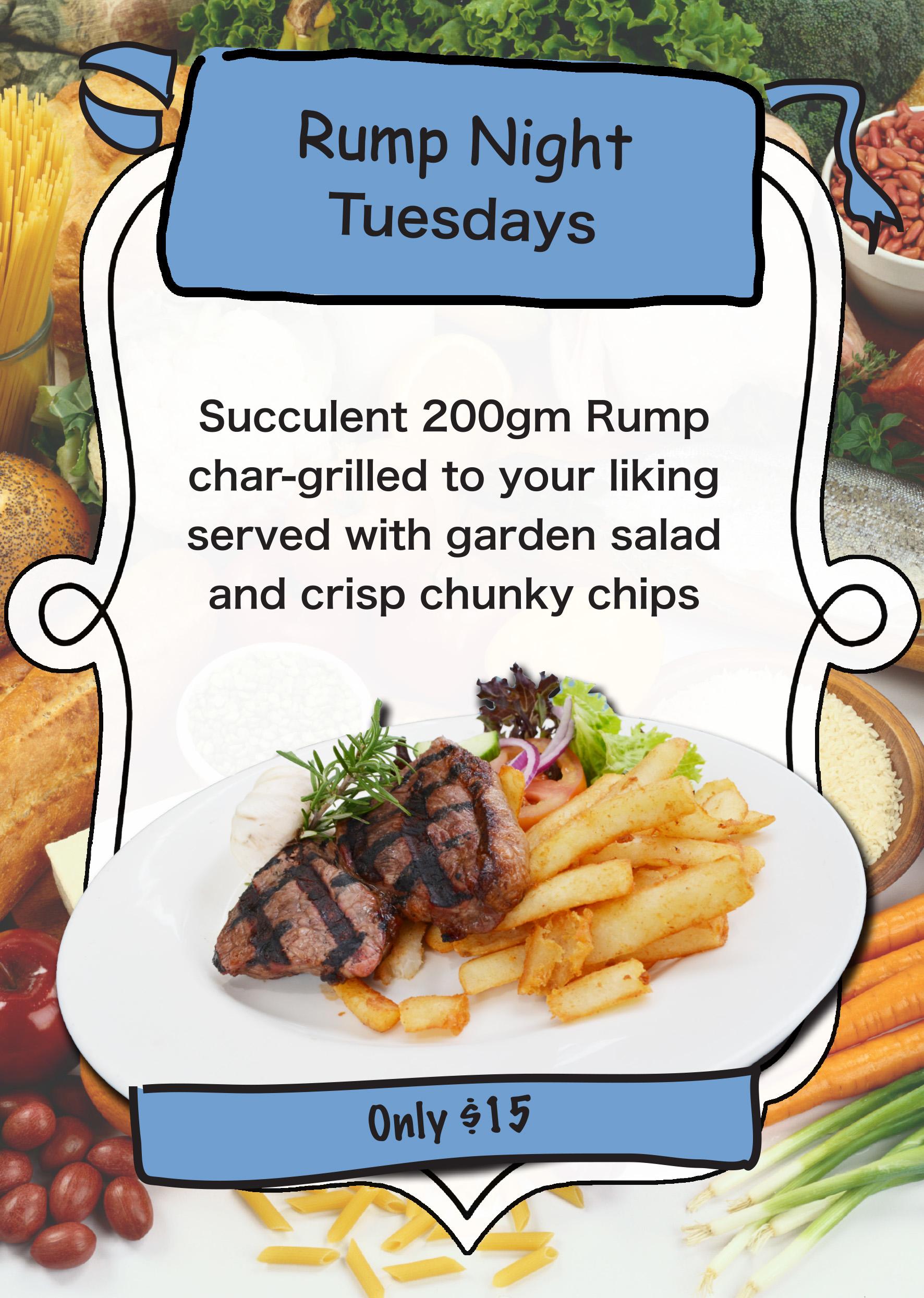 Tuesday Rump Night