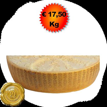 Parmigiano Reggiano oltre 30 mesi - Kg.10 (1/4)