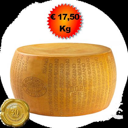 Parmigiano Reggiano oltre 30 mesi - Kg. 40