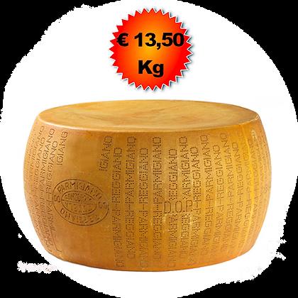 Parmigiano Reggiano 12-18 mesi - Kg. 40
