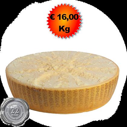 Parmigiano Reggiano oltre 22 mesi - Kg. 20
