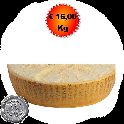 Parmigiano Reggiano oltre 22 mesi - Kg.10 (1/4)