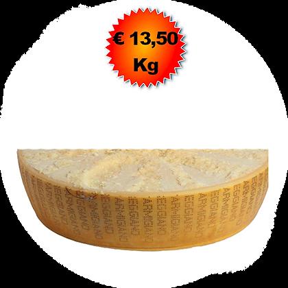 Parmigiano Reggiano 12-18 mesi - Kg.10 (1/4)