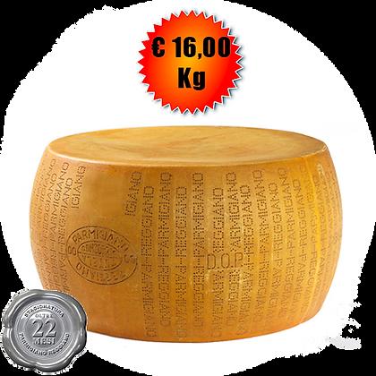 Parmigiano Reggiano oltre 22 mesi - Kg. 40